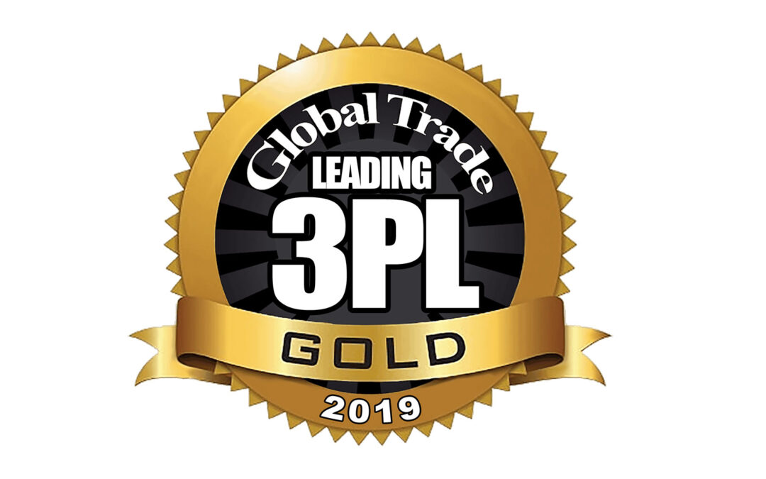 Magnate Worldwide named as a Leading 3PL Gold for 2019 by Global Trade Magazine